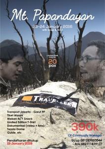 Open trip - Mt.Papandayan 2016 - jakartatraveller.com