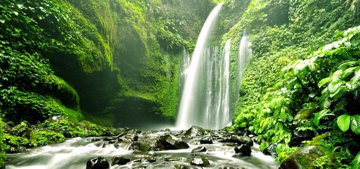 Air Terjun Sendang Gile, Solo Travelling Explore Wisata Lombok, Indonesia traveller
