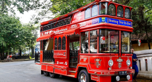 Bus wisata bandros bandung city tour bandung indonesia traveller