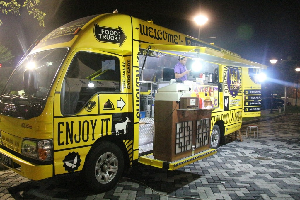 The Halal Food Truck, Indonesia Traveller