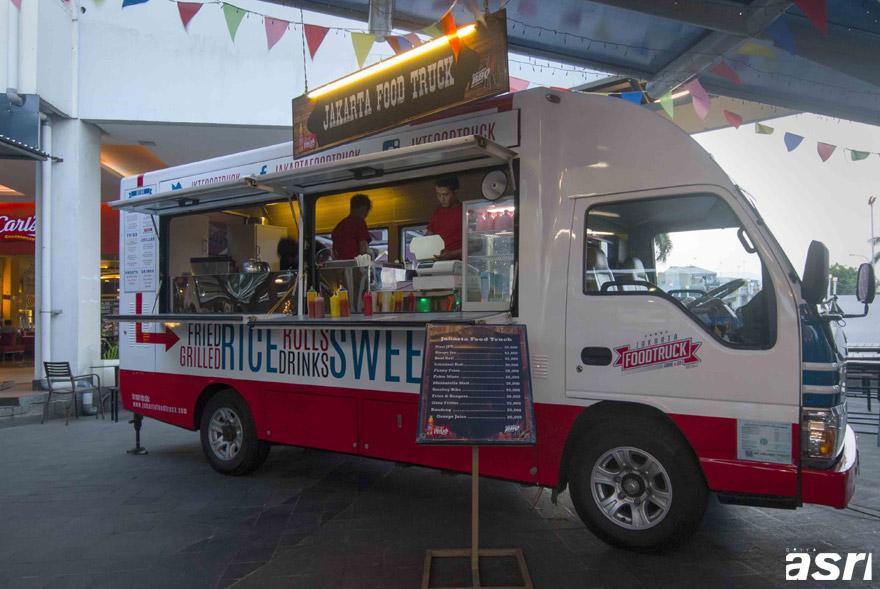 Jakarta Food Truck, indonesia traveller