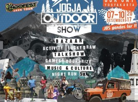 Jogja Outdoor Show - indonesia traveller - peralatan outdoor murah
