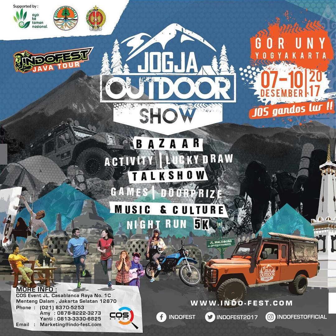 Jogja Outdoor Show – indonesia traveller – peralatan outdoor murah