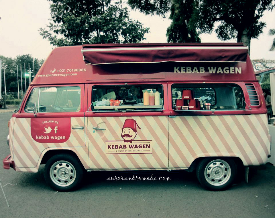 Food Truck Kebab Wagen - indonesia traveller