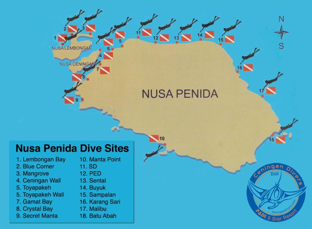 nusa penida dive sites - indonesia traveller - wisata keren di bali